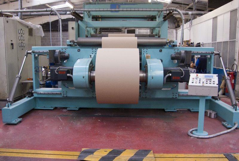 bobinage et enduction papier plastique
