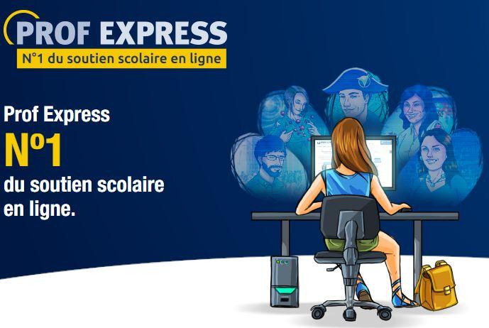 soutien scolaire en ligne Prof Express