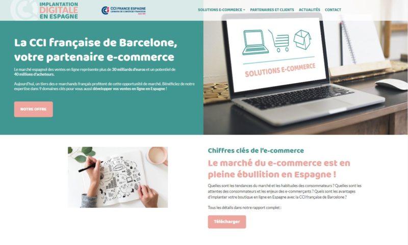 développer e-commerce en espagne
