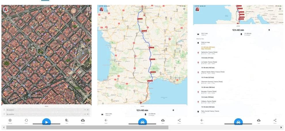 Quel est le meilleur site pour préparer un itinéraire en voiture électrique ? A better Route Planner !
